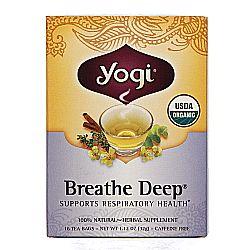 Yogi Tea Organic Teas Breathe Deep Organic Tea