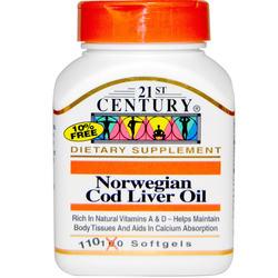 21st Century Norwegian Cod Liver Oil