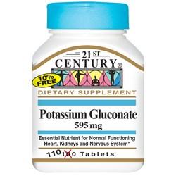 21st Century Potassium Gluconate