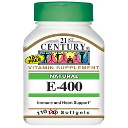 21st Century Natural Vitamin E