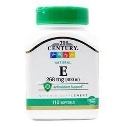 21st Century Natural Vitamin E