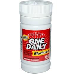 21st Century Maximum One Daily