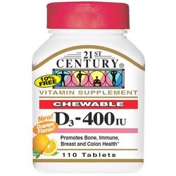 21st Century D3-400 IU