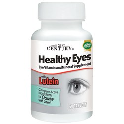 21st Century Healthy Eyes with Lutein
