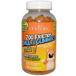 21st Century Zoo Friends Multi Gummies Plus Extra C