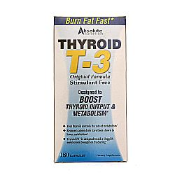 Absolute Nutrition Thyroid T-3 Radical Metabolic Booster