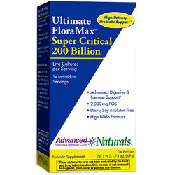 Advanced Naturals Ultimate FloraMax Super Critical 200 Billion Sticks
