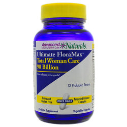 Advanced Naturals Ultimate FloraMax Total Woman Care 90 Billion