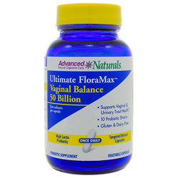 Advanced Naturals Ultimate FloraMax Vaginal Balance 50 Billion