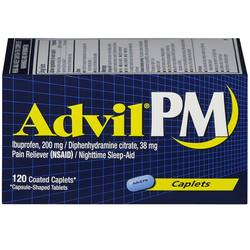 Advil PM Pain Reliever and Nighttime Sleep-Aid