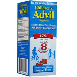 Advil Children's Liquid Fever Reducer and Pain Reliever