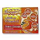 Alacer Emergen-C Vitamin C 1000 mgSuper Orange