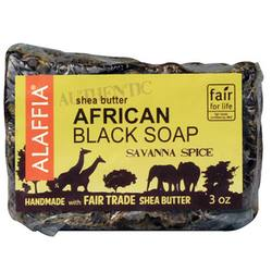 Alaffia Authentic African Black Bar Soap