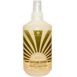 Alaffia Coconut Water Sea Salt Volumizing Texture Spray