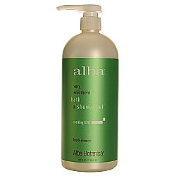 Alba Botanica Very Emollient Bath  Shower Gel