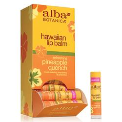 Alba Botanica Pineapple Quench Lip Balm Tube
