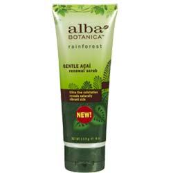 Alba Botanica Gentle Acai Renewal Scrub