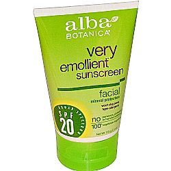 Alba Botanica Very Emollient Sunscreen