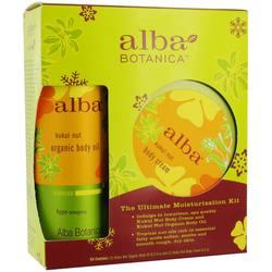 Alba Botanica Kukui Nut Ultimate Moisture Treatment Kit