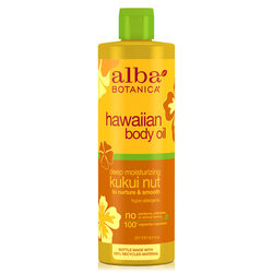 Alba Botanica Kukui Nut Organic Massage Oil