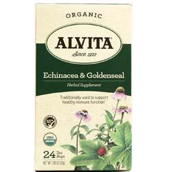 Alvita Echinacea and Goldenseal Tea