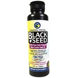 Amazing Herbs Black Seed Oil Liquid