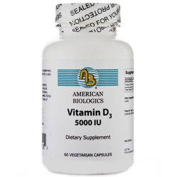 American Biologics Vitamin D3 5000 IU