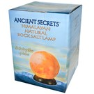 Ancient Secrets Himalayan Natural Sphere Rock Salt Lamp