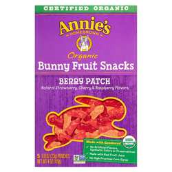 Annies Homegrown Organic Bunny Fruit Snacks