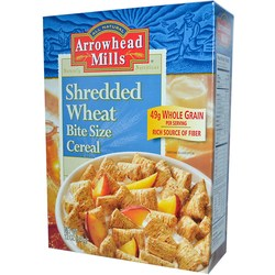 Arrowhead Mills Shredded Wheat Bite Size Cereal