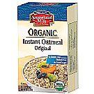 Arrowhead Mills Organic Instant OatmealOriginal