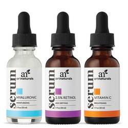 Art Naturals Anti-Aging Serum Trio Set