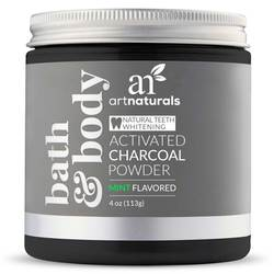 Art Naturals Activated Charcoal Powder Teeth Whitener