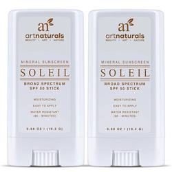Art Naturals Soleil SPF 50 Sunscreen Sticks