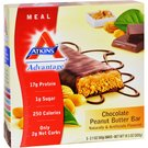 Atkins Advantage Meal Bar Chocolate Peanut Butter