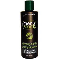 Aubrey Organics Men's Stock Ginseng Biotin Shampoo