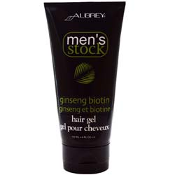 Aubrey Organics Men's Stock Ginseng Biotin Hair Gel