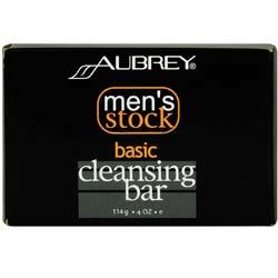 Aubrey Organics Men's Stock Cleansing Bar