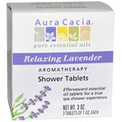 Aura Cacia Aromatherapy Shower Tablets Relaxing Lavender