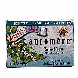 Auromere Ayurvedic Tulsi Neem Soap