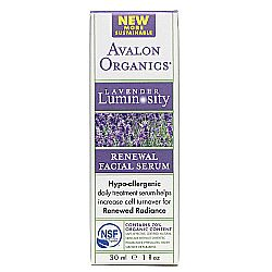 Avalon Organics Lavender Renewal Facial Serum