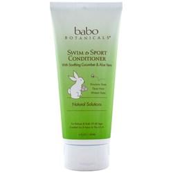 Babo Botanicals Swim and Sport Conditioner Cucumber Aloe