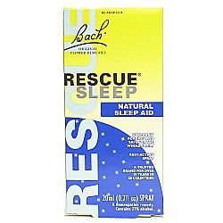 Bach Flower Remedies Rescue Remedy Sleep