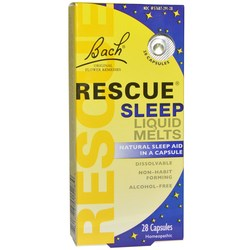 Bach Flower Remedies Rescue Sleep Liquid Melts