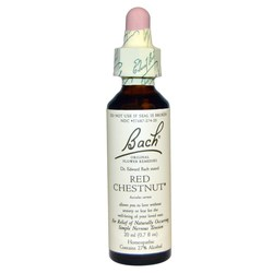 Bach Flower Remedies Red Chestnut Flower Essence