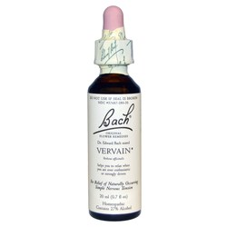 Bach Flower Remedies Vervain Flower Essence