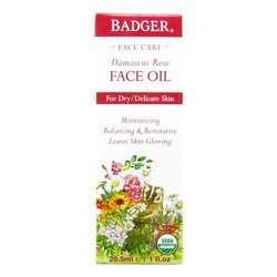 Badger Face Oil - Damascus Rose