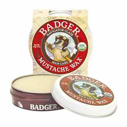 Badger Man Care Mustache Wax