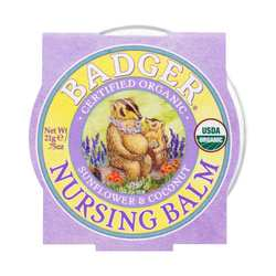 Badger Nursing Balm- Sunflower  Coconut