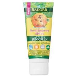 Badger Anti-Bug Sunscreen - Broad Spectrum SPF 34